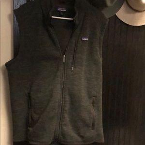 Patagonia gray vest. XL.